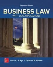 Business Law with UCC Applications Sukys, Paul A.