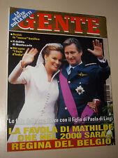 GENTE 1999/51=MATHILDE D'UDEKEN=TINA AUMONT=ROSEMARY ALTEA=CHINO BERT=RITA FORTE