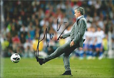 JOSE MOURINHO - Hand Signed 12x8 Photo - Manchester Man United Utd - Football