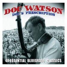 DOC WATSON - DOCS PRESCRIPTION (40 Essential Bluegrass Classics) 2CD