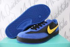 NIKE SB ZOOM FC CLASSIC SZ 12 ROYAL BLUE VARSITY MAIZE BLACK SKATE 909096 400