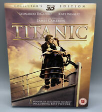 *NEW* Titanic (Blu-ray 3D+2D, 2012, 4-Disc Set)