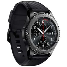 Samsung Gear S3 R760 Frontier Android Smartwatch Fitnesstracker Sportuhr WOW!
