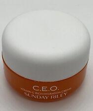 NEW Sunday Riley C.E.O. Vitamin C Rich Hydration Cream .3oz  CEO 🧡 AUTHENTIC