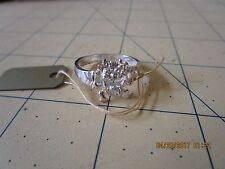 TAz  devil Ring Sterling Silver Tasmanian sz  6 .25
