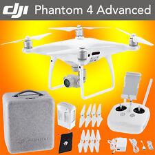 DJI Phantom 4 Advanced Drone Quadcopter 2017 4k 60 FPS Video 5km Range 20MP Cam