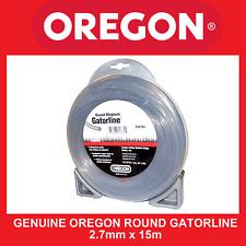 Trimmer line Genuine Oregon Round Gatorline - 2.7mm X 15m FREE SHIPPING
