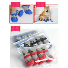 Small Rubber Boots Rubber Rain Boots Large Dog Anti-Slip Cat Non Slip Shoes ON3