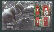 GREAT BRITAIN 2009 POST BOXES PRESTIGE BOOKLET PANE FINE USED