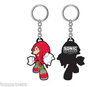 Nudillos-Sonic the Hedgehog-goma llavero/keychain/keyring