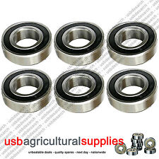 6 x NEW DECK BEARINGS COUNTAX C-SERIES TRACTOR MOWERS 10806600 - NEXT DAY DEL