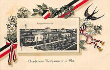 Neuhammer am Queis Świętoszów Truppenübungsplatz AK 1915 Bahnpost