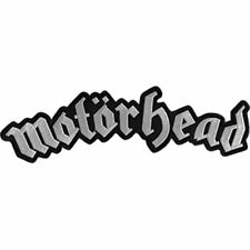 MOTORHEAD - BAND LOGO - LARGE EMBROIDERED PATCH - BRAND NEW - 5237