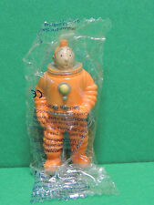 Tintin LU figurine cosmonaute BD pvc publicitaire 1994 moon figure Tim / Kuifje