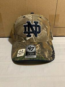 Notre Dame Fighting Irish NCAA '47 Brand Camo Adjustable One Size Hat