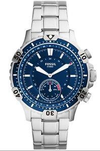 Fossil   Herrenuhr Hybrid Smart Watch   Edelstahl FTW1310 Garrett   neu
