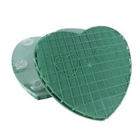 "Regular 8"" Floral Foam Heart with Suction Pads! Oasis Bouquet Arrangement"