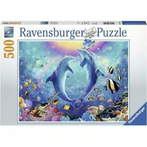 Ravensburger - Dancing Dolphins Jigsaw Puzzle 500pc