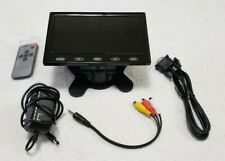 7'' TFT LCD Display Color TFT Monitor Video + Accessories/Box