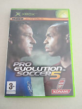 xbox pro evolution soccer 5 game Australia PAL