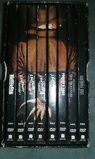 Nightmare on Elm Street DVD Collection 7 DVD Set, Bonus 8th DVD, Textured CASE