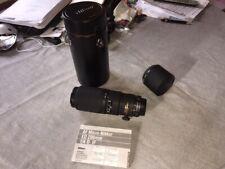 AF Micro-Nikkor ED 200mm f/4 D IF