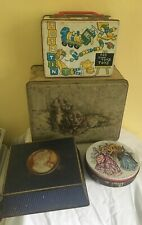 4 x  vintage  biscuit  tins McVitie Price Hawkes  etc lot 10