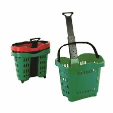More details for giant shopping basket trolley green - sby20755