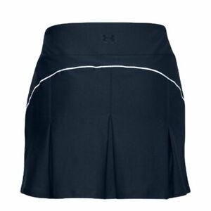 NWT Women's Under Armour  Links Knit Skort  Skirt Shorts NAVY SZ-S/M