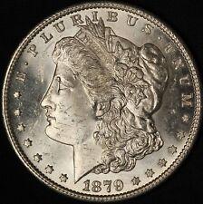 1879-S Morgan Silver Dollar - BU PL - Free Shipping USA
