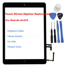 For iPad Air 5 A1475 Touch Panel Screen Glass Lens Digitizer Replacement+IC Chip
