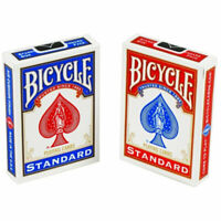 Bicycle Standard Index Playing Cards - 2 SEALED DECKS (1 Blue & 1 Red) - New