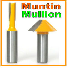 "2 pc 1/2"" SH Window grill Muntin/Mullion Cutter Router Bit Set sct-888"