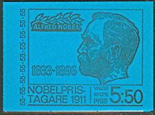 SWEDEN (H251A) Scott 912a, 55ore 1911 Nobel Prize Bklt