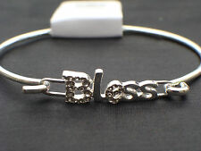 """Cute silver tone bangle """"Blessed"""""""