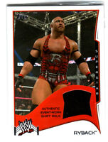 WWE Ryback 2014 Topps Event Used Shirt Relic Card Black