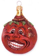 Slavic Treasures Tasteless Tomato Polish Glass Ornament Retired!