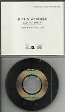 She Wants Revenge JUSTIN WARFIELD Dip Dip Divin RADIO PROMO DJ CD Single 1993