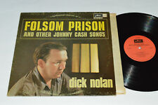 DICK NOLAN Folsom Prison and other Johnny Cash Songs LP Arc Records Canada VG/VG