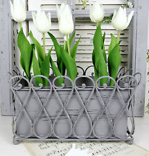 Markenlose Deko-Blumentöpfe & -Vasen im Landhaus-Stil aus Metall