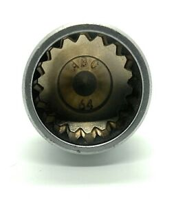 Porsche Wheel Lock Key -- 18 splines / ABC 64 -- 23mm diameter -- FAST SHIPPING!