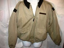 Vintage Avirex A-2 Air Force Bomber Flight Jacket, Tan/Leather - Extra Large XL