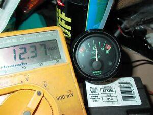 BMW R100RT Green VOLTMETER R100S R100CS R100RS R100 R80RT R100/7 R75/7 R65 R90/6