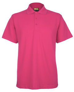 Mens MIG Active Pique Polo T Shirt Size XS to 6XL - SPORT CASUAL WORK LEISURE