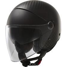 LS2 Helmet Motorbike Open Of597 Cabrio Solid Carbon L