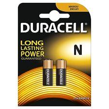 Pack of 2 Duracell MN9100 N 1.5V Alkaline Battery LR1 E90 KN