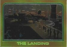 1999 Topps Star Wars Chrome Archives #47 The Landing > Millenium Falcon > Cloud