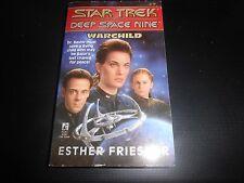 Star Trek Deep Space Nine - Warchild Paperback Book Novel
