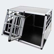 Trasportino Doppio gabbia  alluminio   cani  auto Large L 104 cm con DIVISORIO!!