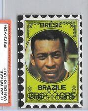 1972 PELE Brasil Voetbalsterren Vanderhout BELGIUM VERSION